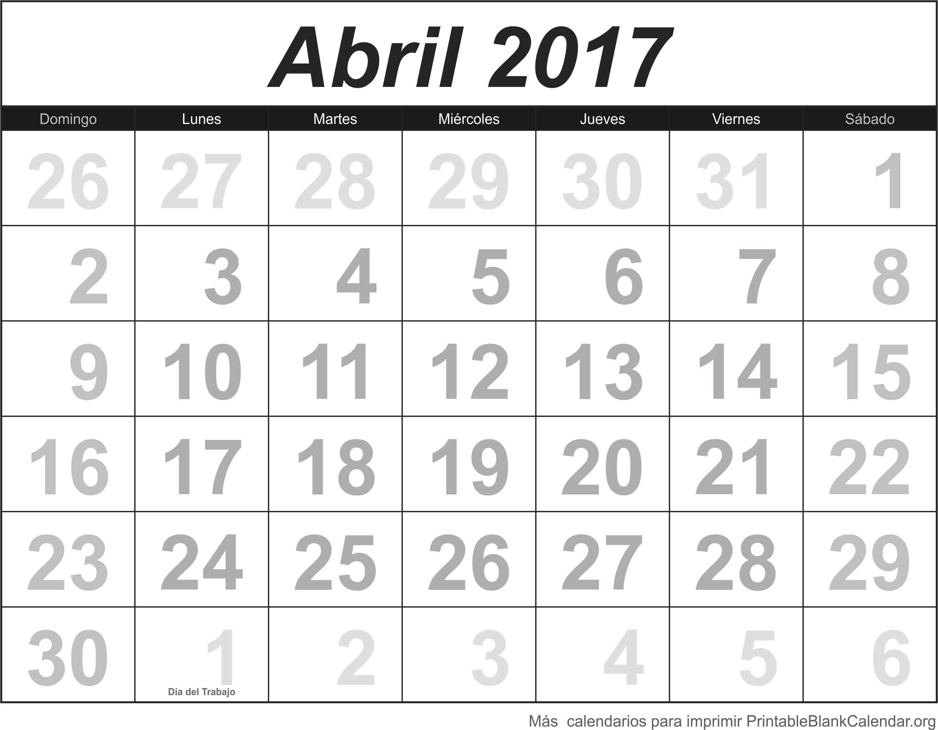 abril 2017 agenda
