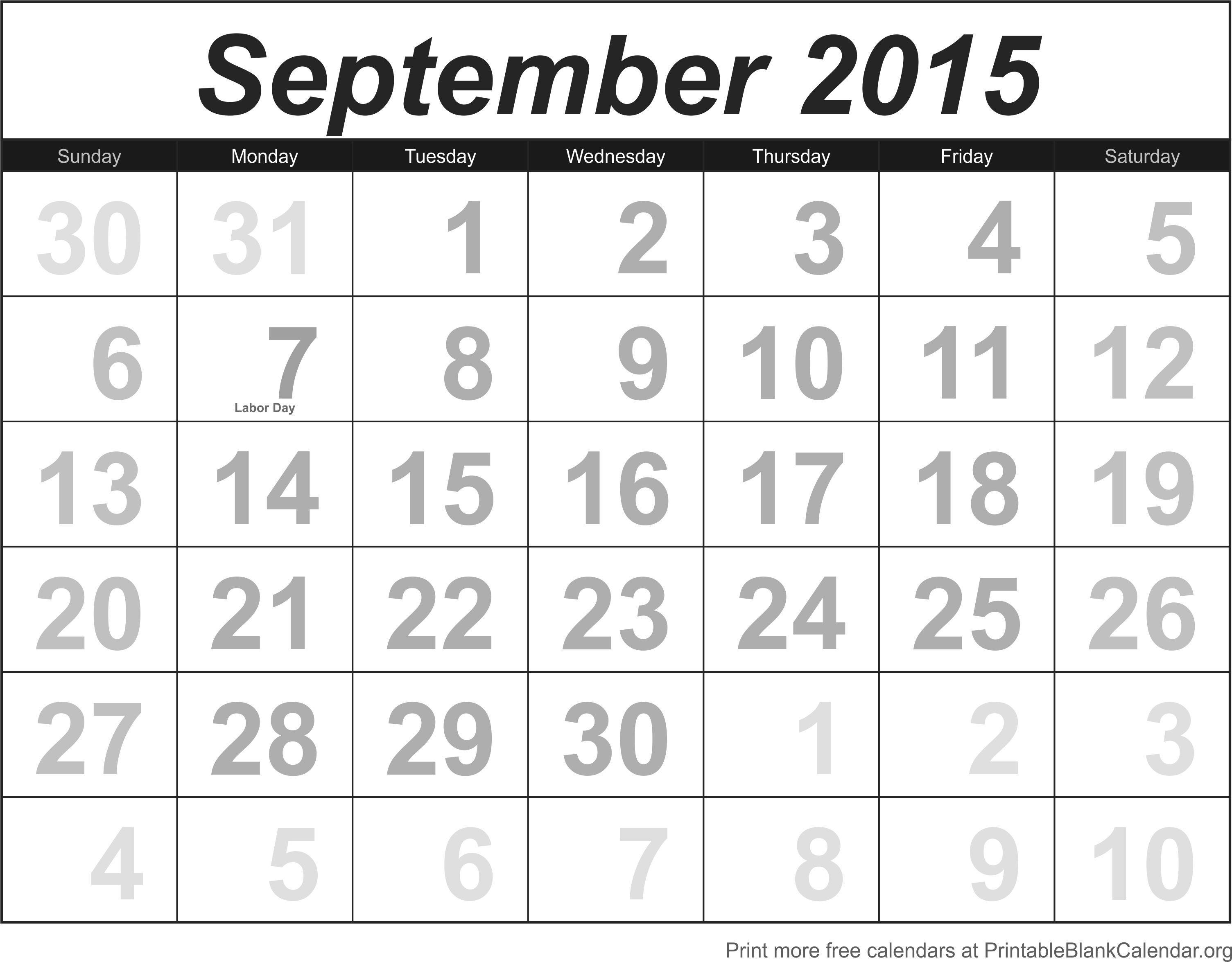 printable blank calendarorg free calendar templates