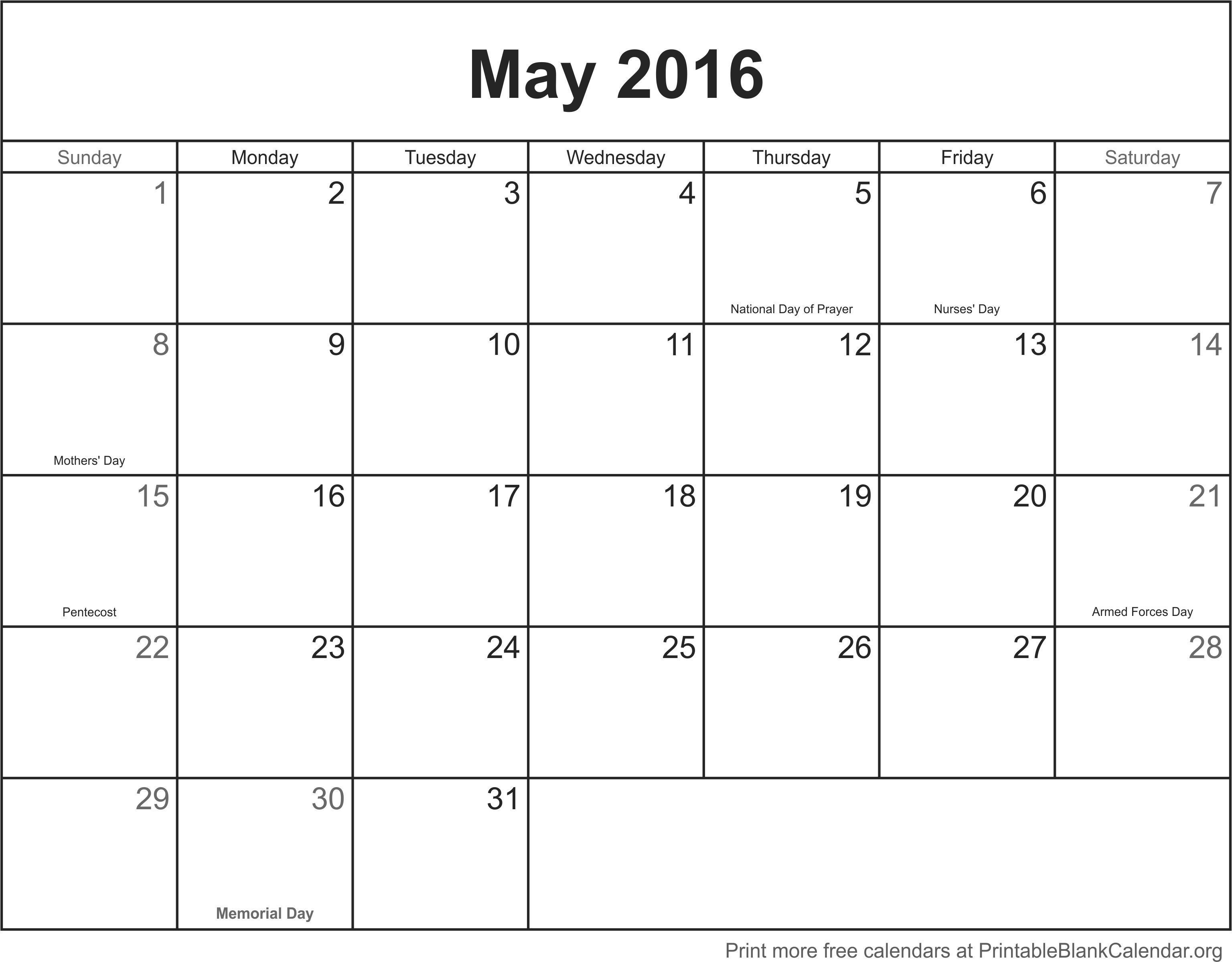 "Calendar Blank May : Search results for ""full page calendars to print"