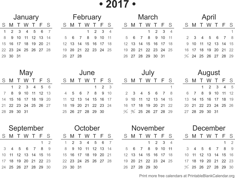 2017 Calendar October 2017