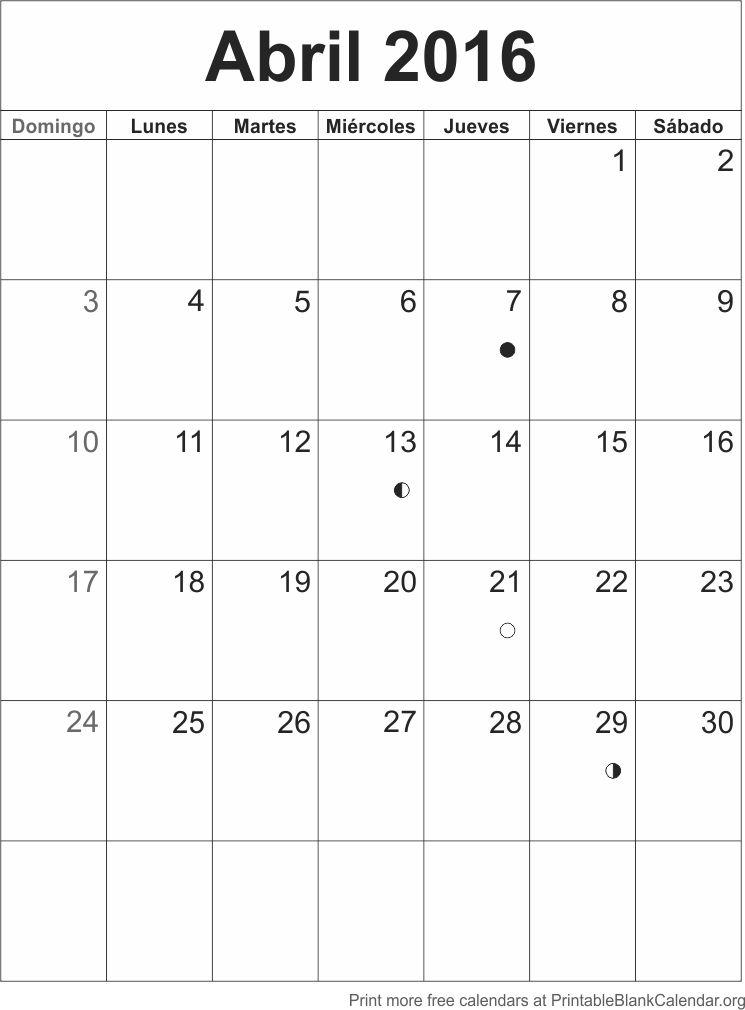 abr 2016 calendario