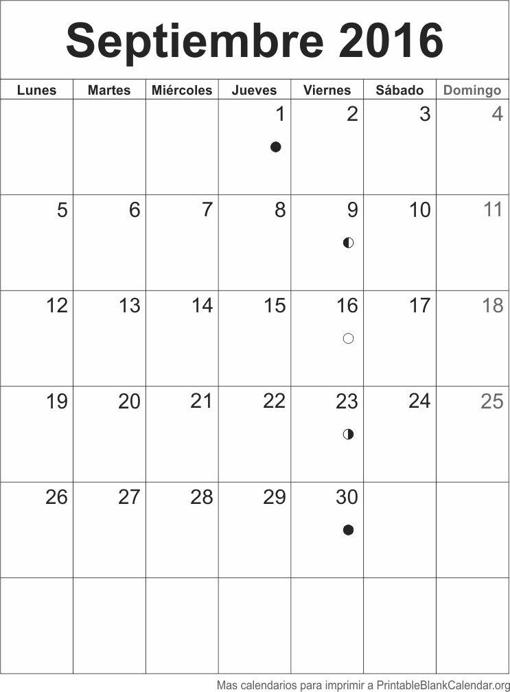 agenda septiembre 2016