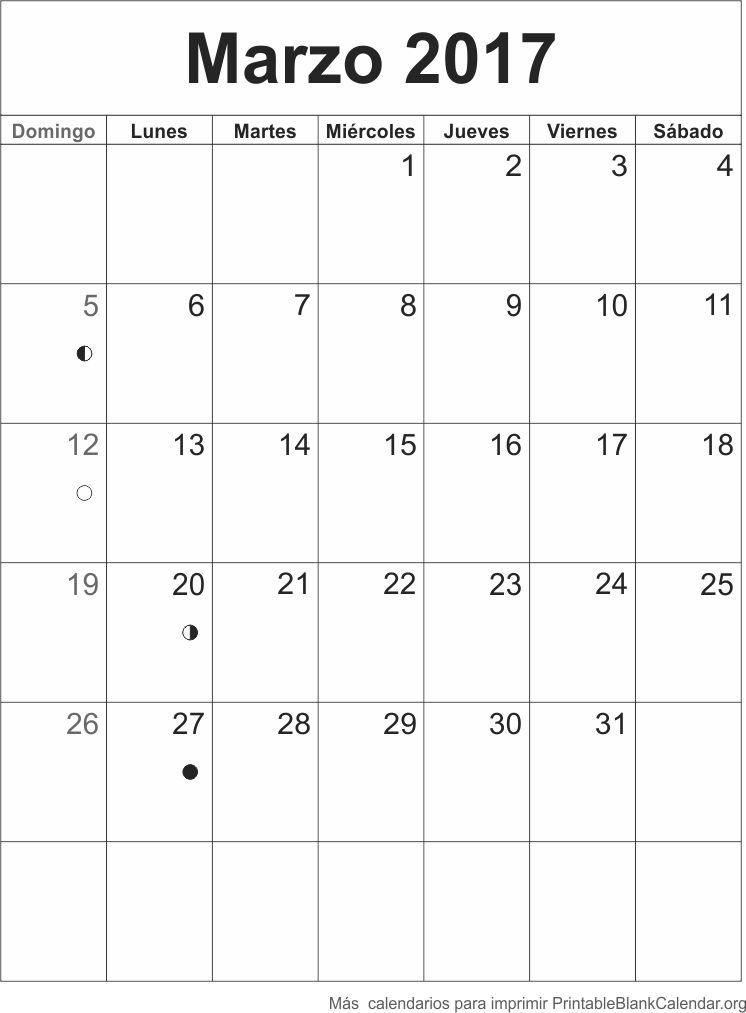 agenda marzo 2017