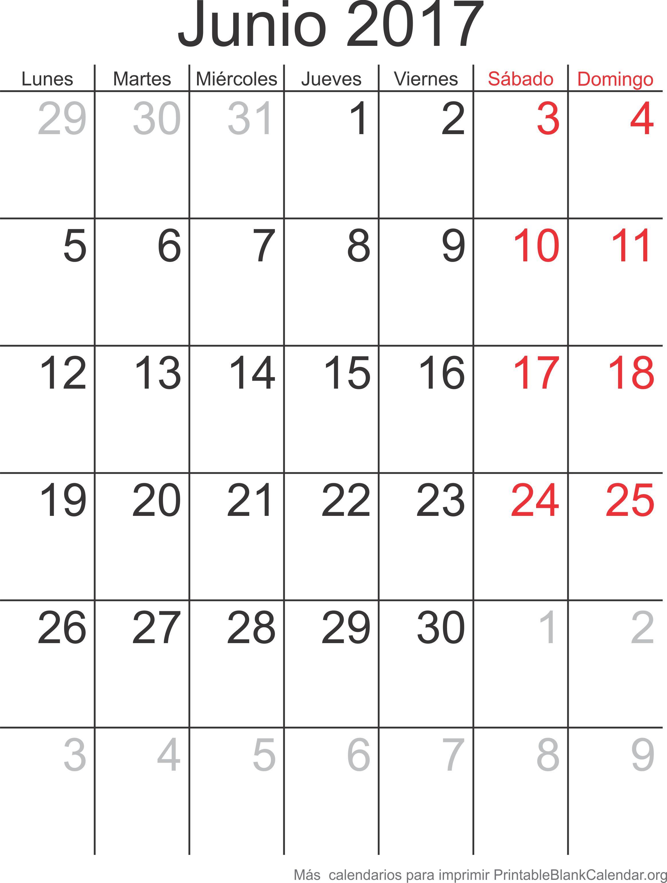 junio 2017 agenda