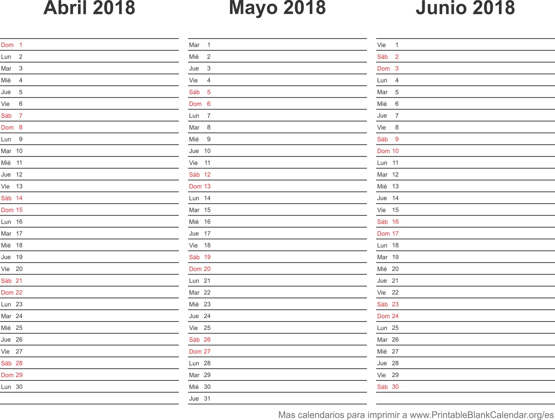 2018 agenda planner 2