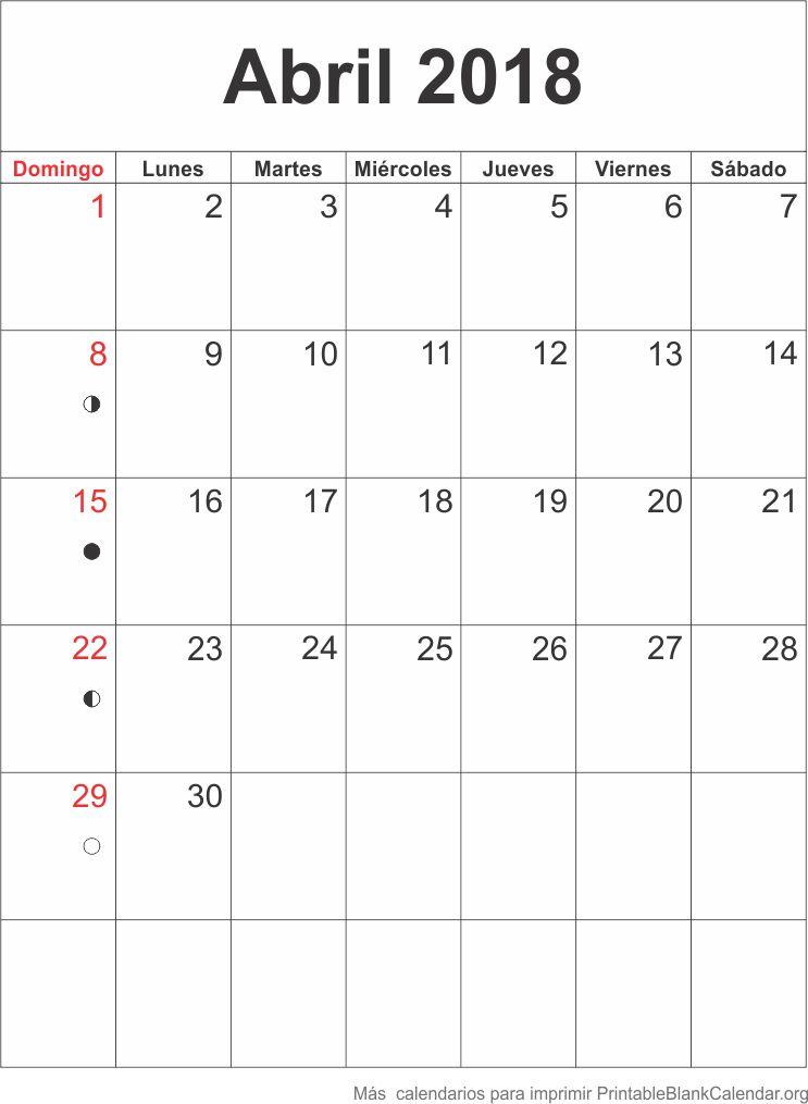 abr 2018 calendario